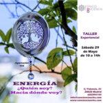 Taller ENERGÍA – ¿Qué soy? ¿Hacia dónde voy?  (29 de Mayo 2021)